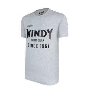 Klassiek Windy T-shirt Grijs