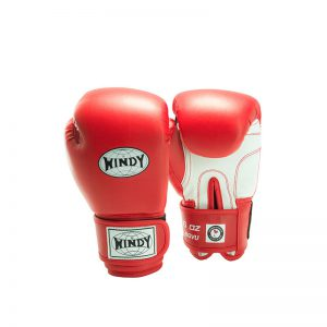 Windy Kinder Boxhandschuh Rot