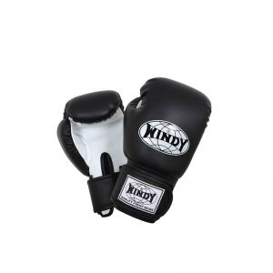 Windy-Kinder Bokshandschoen Zwart